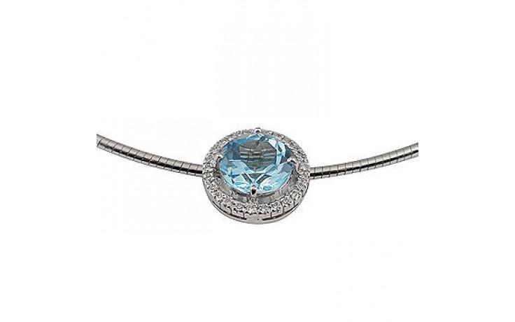 Ogrlica Blue Topaz