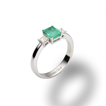Prstan Emerald collection