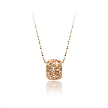 Ogrlica Single beads