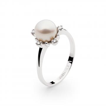 Prstan Romantic Pearl