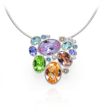 Ogrlica Aurora - Swarovski kristal