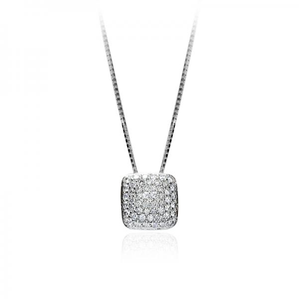 Ogrlica Diamond Cushion