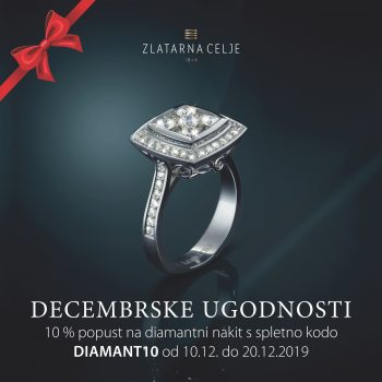 Diamantne decembrske ugodnosti